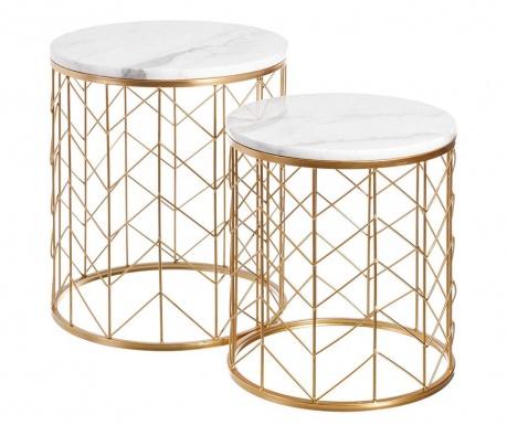 Geometric Rain 2 db Asztalka