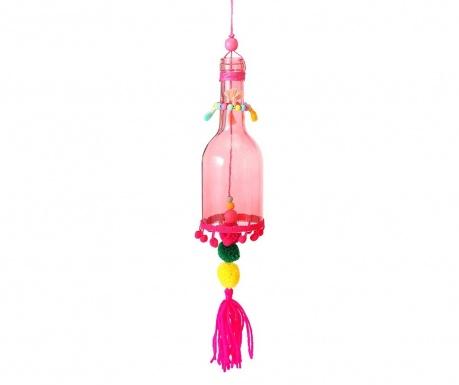 Dekoracja wisząca Pompom Pink