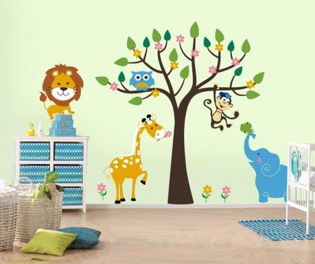 Nalepka Elephant Tree