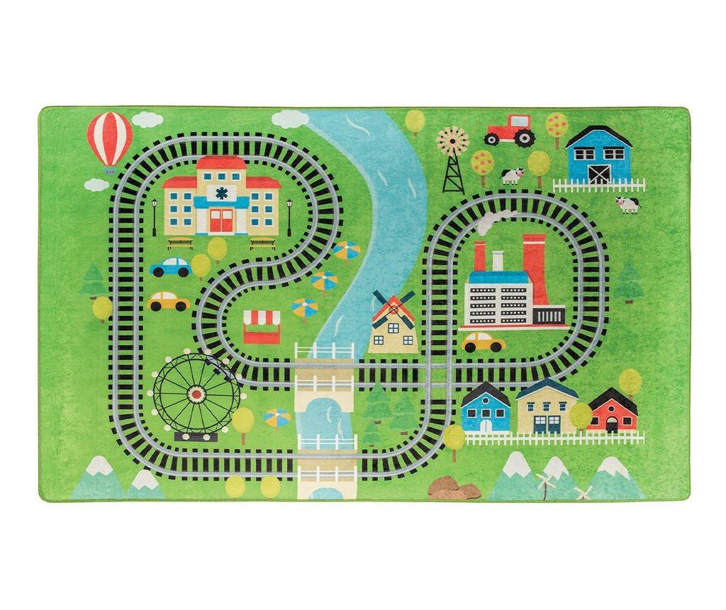 Train Játszószőnyeg 200x290 cm