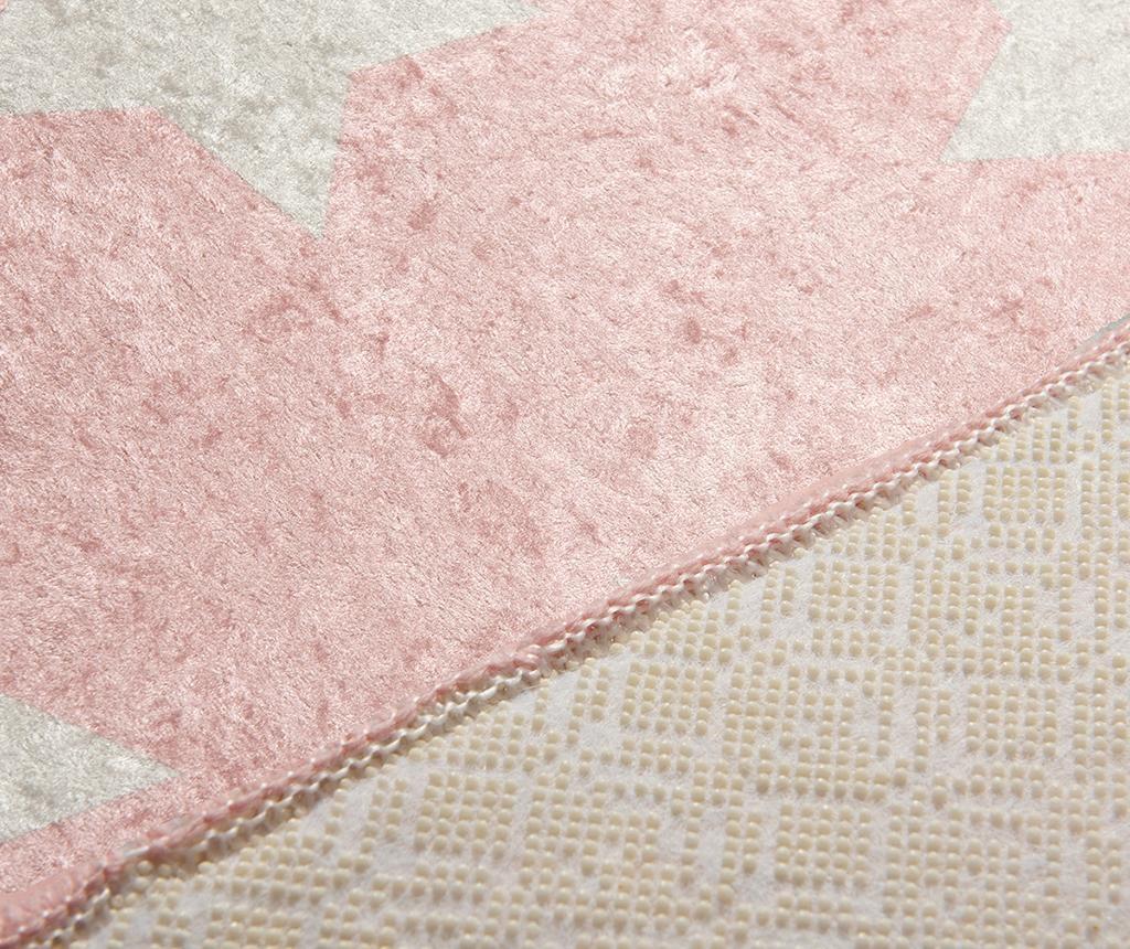 Koberec Stars Pink 100x160 cm