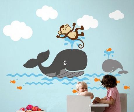 Nalepka Whale