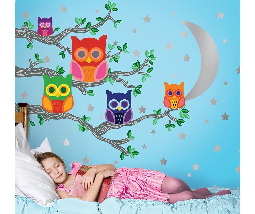Moon Owls Matrica