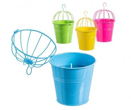 Set 4 viseće svijeće Citronella Bucket Large