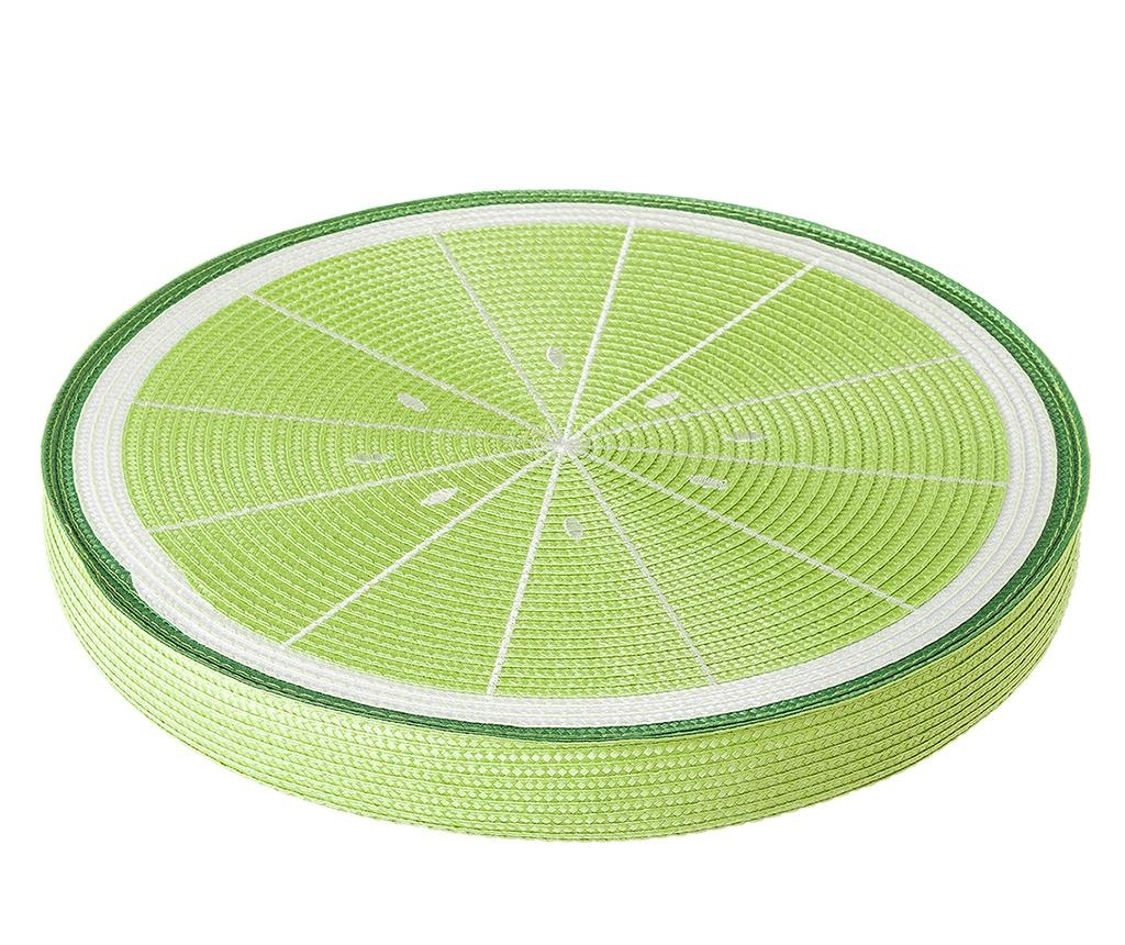 Sedežna blazina Fruits Lemon Green