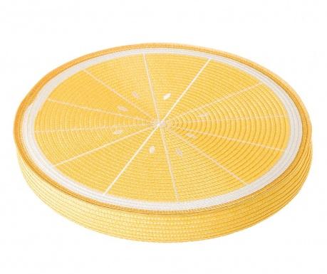 Polštář na sezení Fruits Lemon Yellow