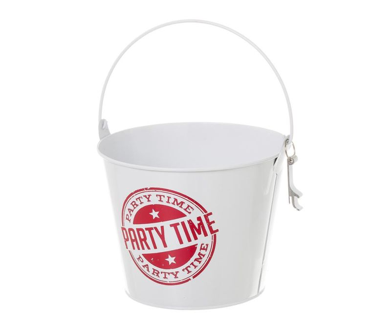 Chladič fliaš Party Time White Red 3.6 L