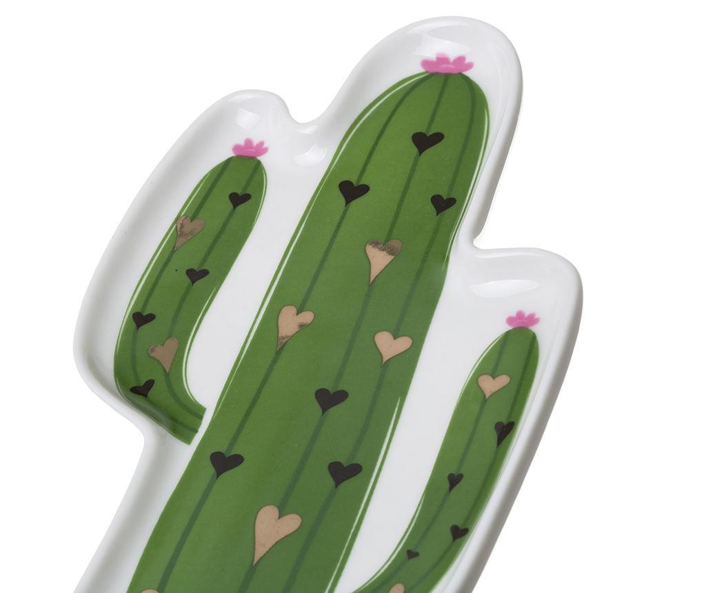 Sada 2 dekoračných podnosov Cactus Loving