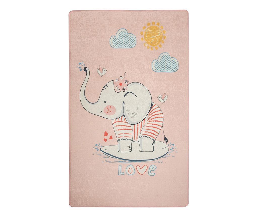 Covor Lovely Pink 100x160 cm
