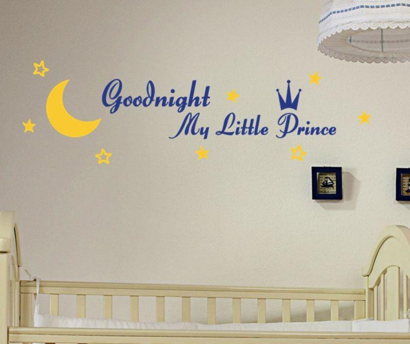 Nalepka Goodnight Prince