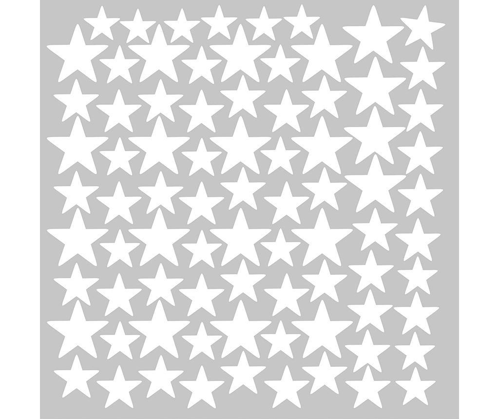 Sada 81 samolepek Stars