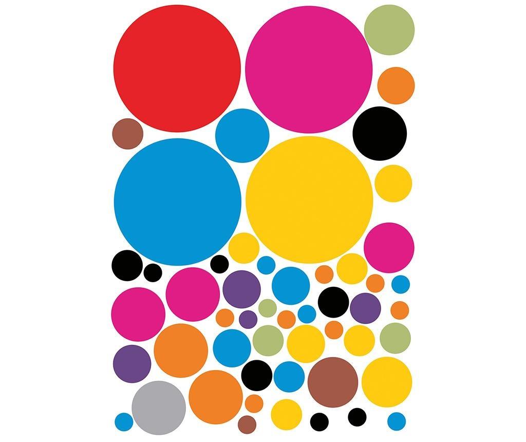Set 53 naljepnice Dots
