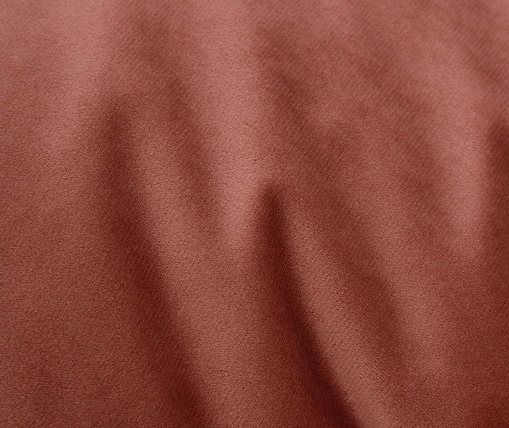 Perna de podea Velvet Plain Pink 80 cm