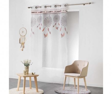 Zavjesa Indila White & Nature 140x240 cm