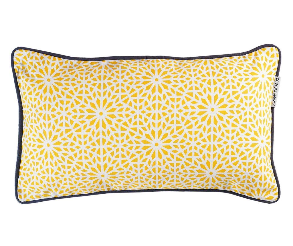 Perna decorativa Tunis Yellow 30x50 cm