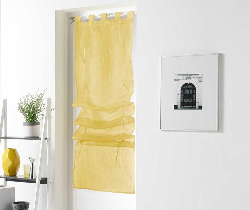 Perdea Pointille Yellow & Gold 45x180 cm