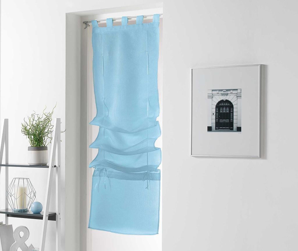 Zavesa Pointille Sky Blue 45x180 cm