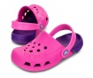 Saboti copii Crocs Neon Pink 34-35