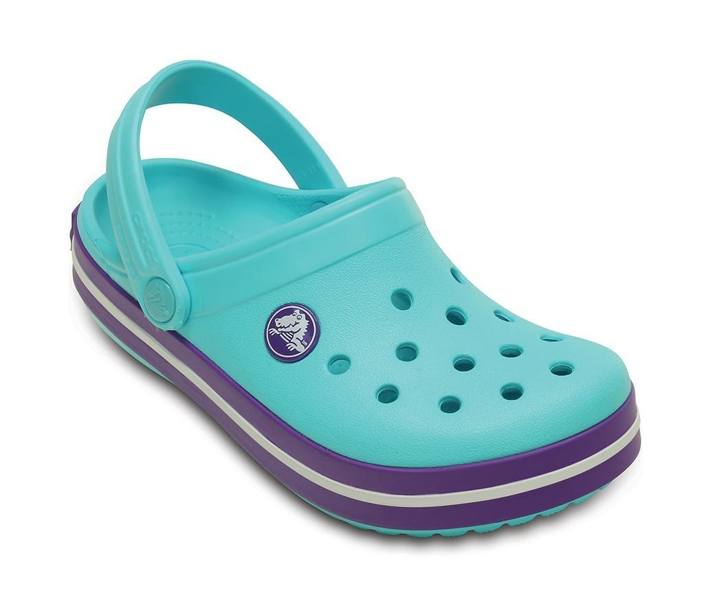 Otroške cokle Crocs Neon Purple 24-26