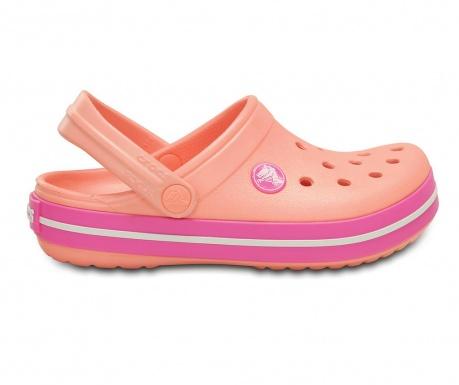 Saboti copii Crocs Clog Orange 24-26