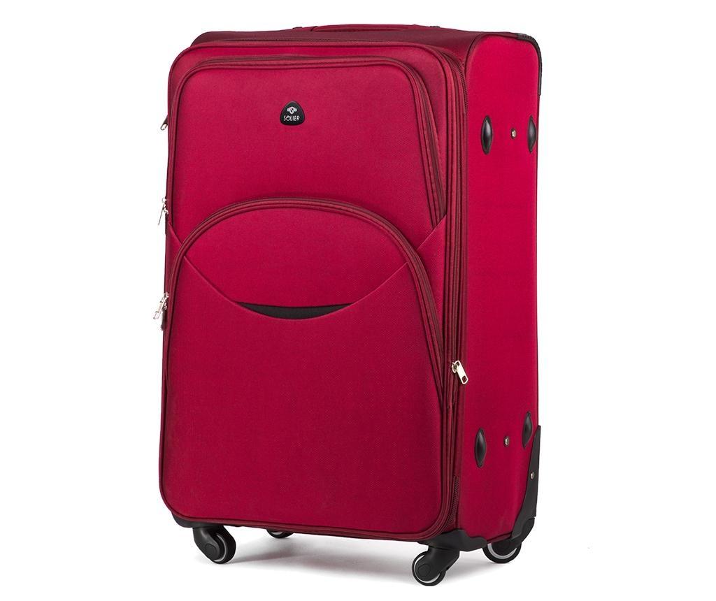 Kovček na kolesih Smile Red 47 L