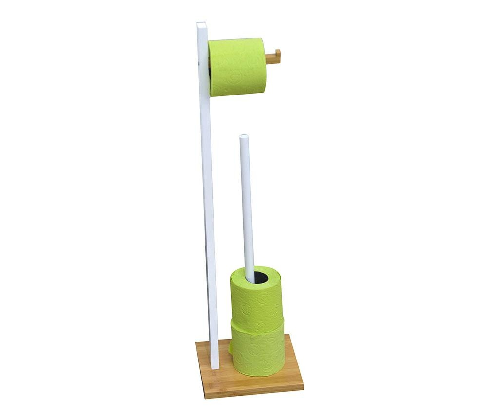 Držač za rolu toaletnog papira Reserve White & Bamboo