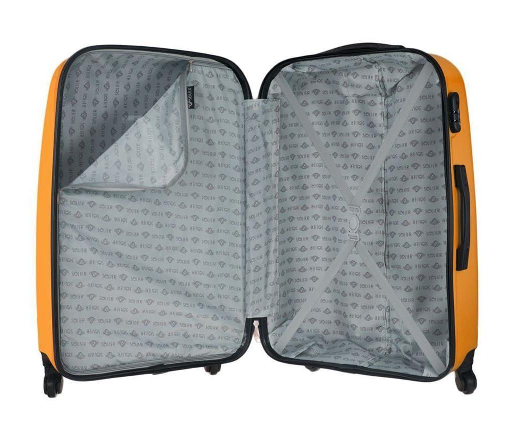 Kovček na kolesih Steady Orange 31 L