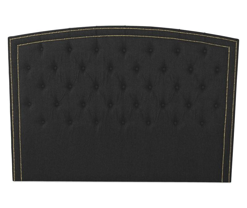Tablie de pat Venetta Line Dark Grey 130x165 cm