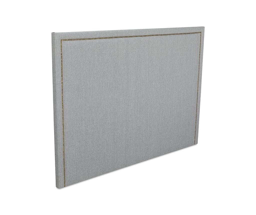 Tablie de pat Venetta Straight Grey 130x185 cm