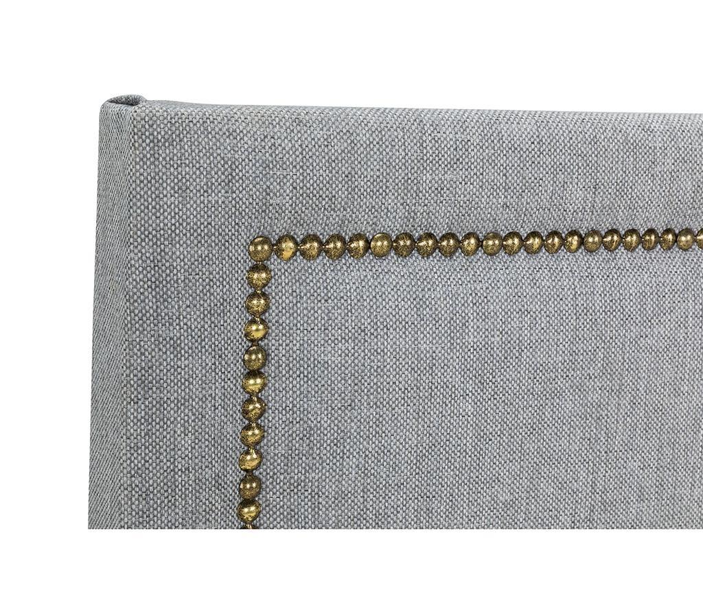 Tablie de pat Venetta Straight Grey 130x165 cm