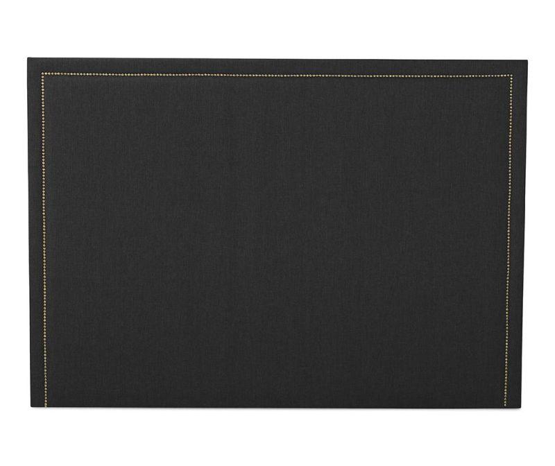 Tablie de pat Venetta Straight Dark Grey 130x165 cm