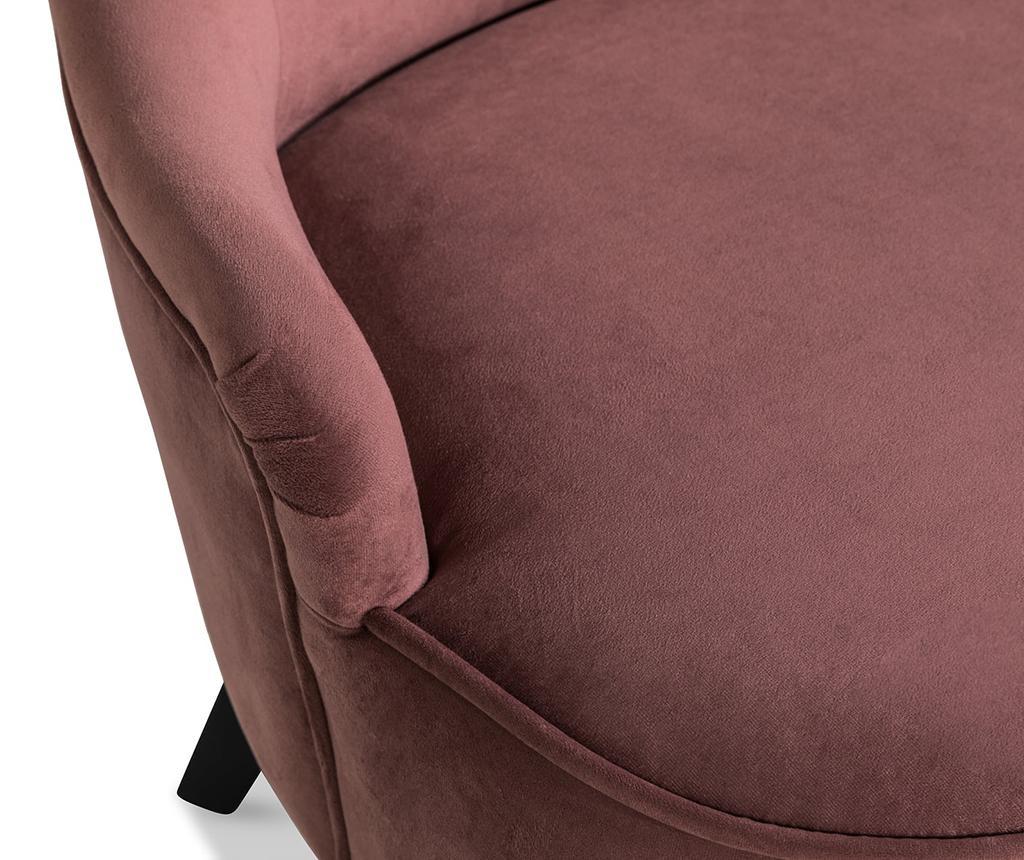 Fotelj diYana Soft Rust Pink 3H