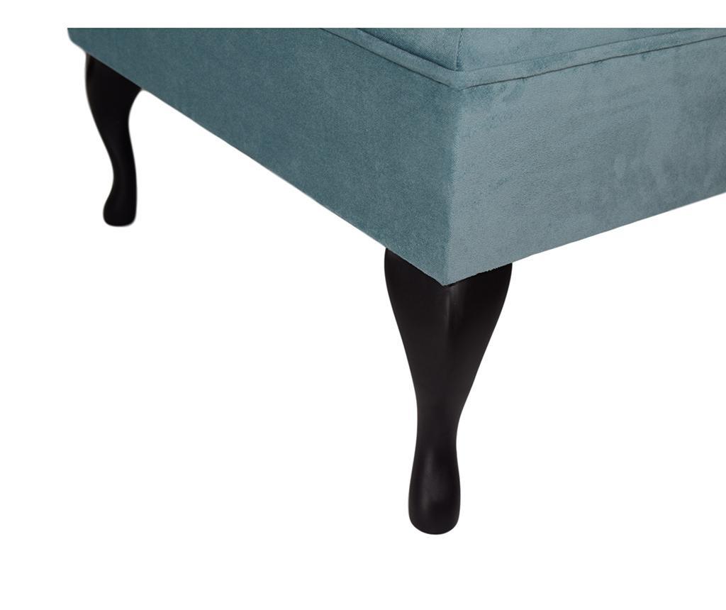 Табуретка за крака diYana Square Turquoise