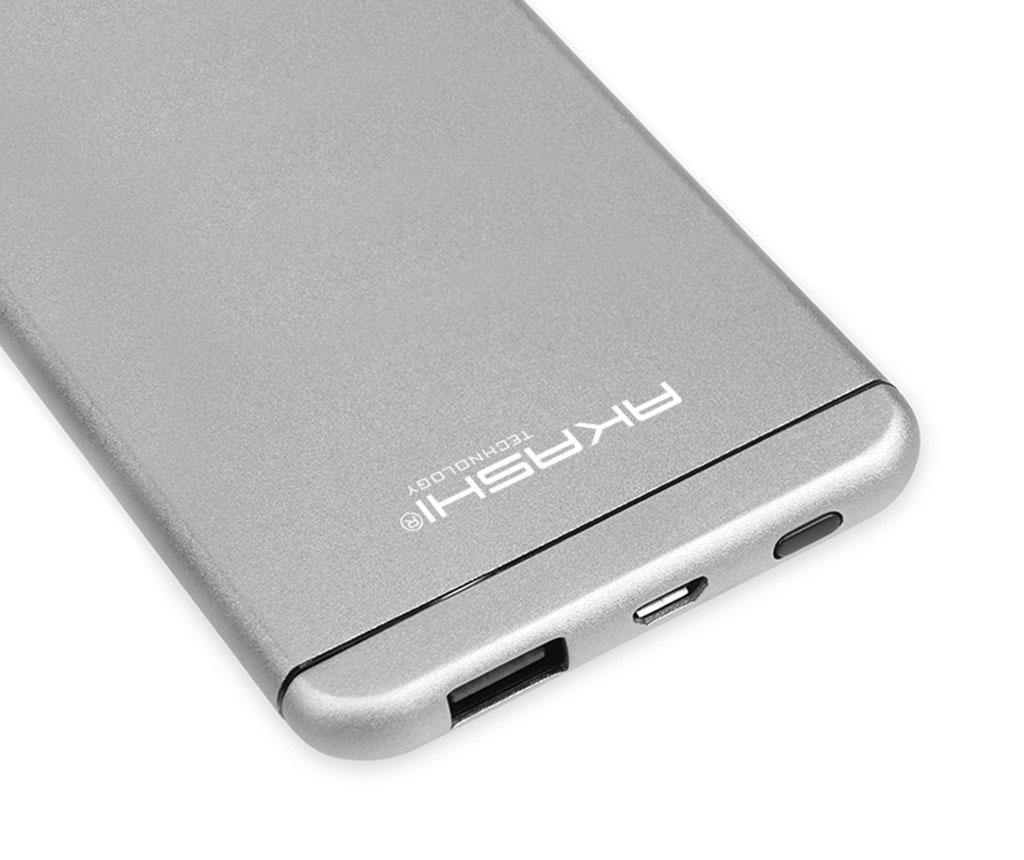 Baterie externa Akashi Ultra Slim White