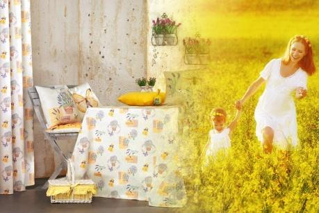 Флорален текстил Apolena