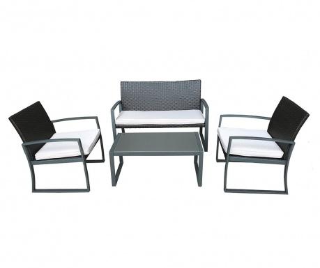 Set mobilier pentru exterior 4 piese Garda