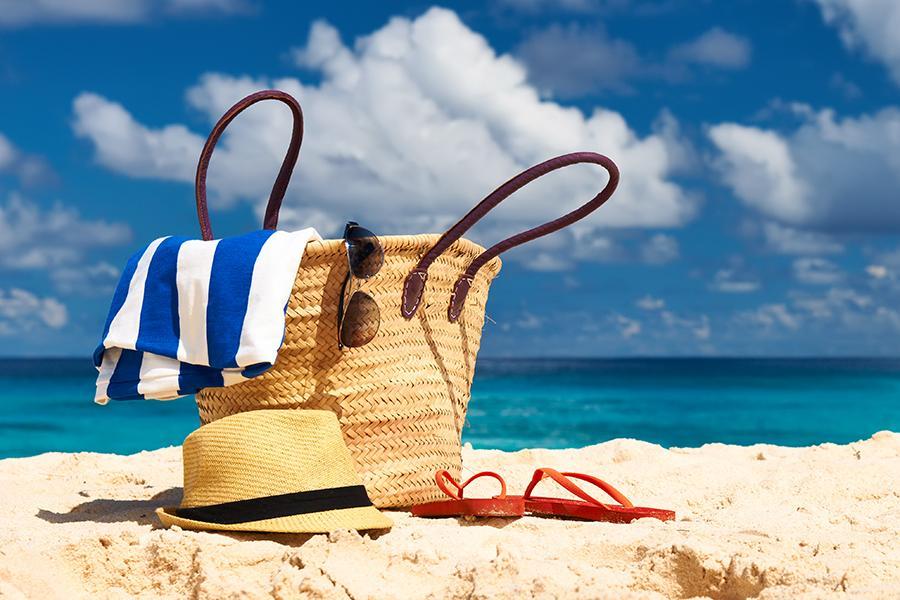 Priprave na plažo