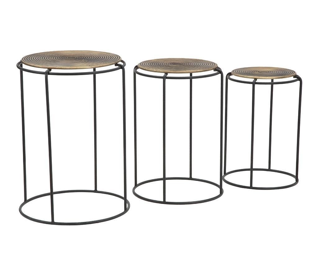 Set 3 stolića Roundy