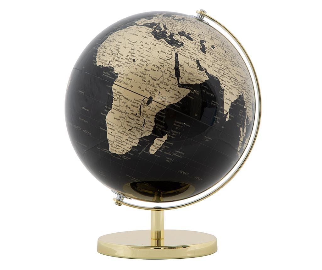 Dekorácia Globe Black M