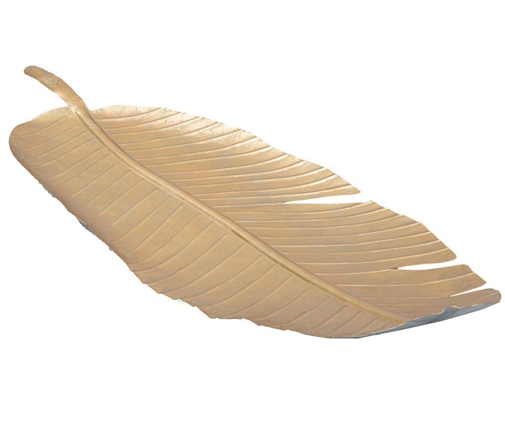 Platou decorativ Leaf Long
