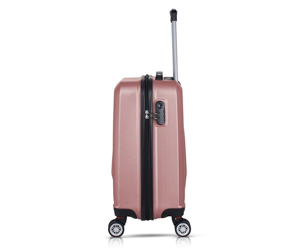 Befoy Rose Gold Gurulós bőrönd
