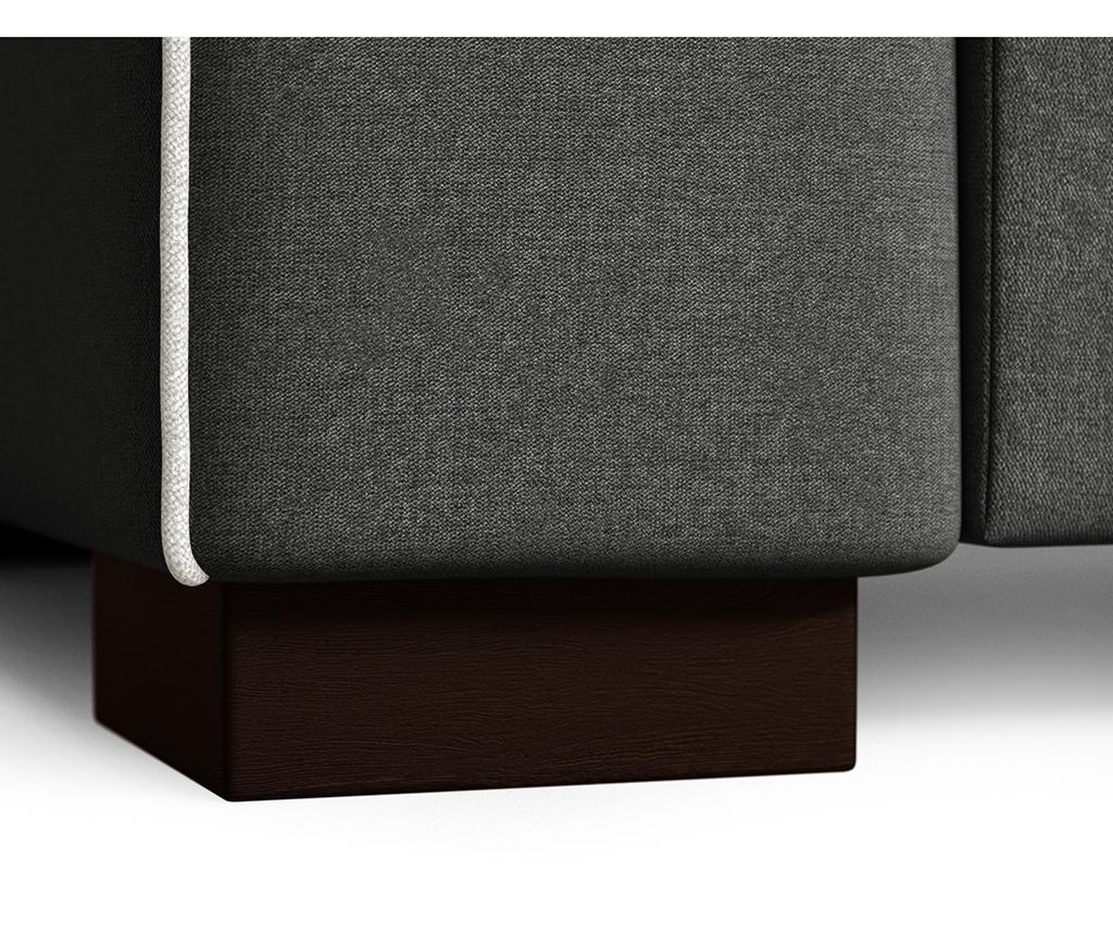 Katherine Anthracite Grey Kétszemélyes kanapé