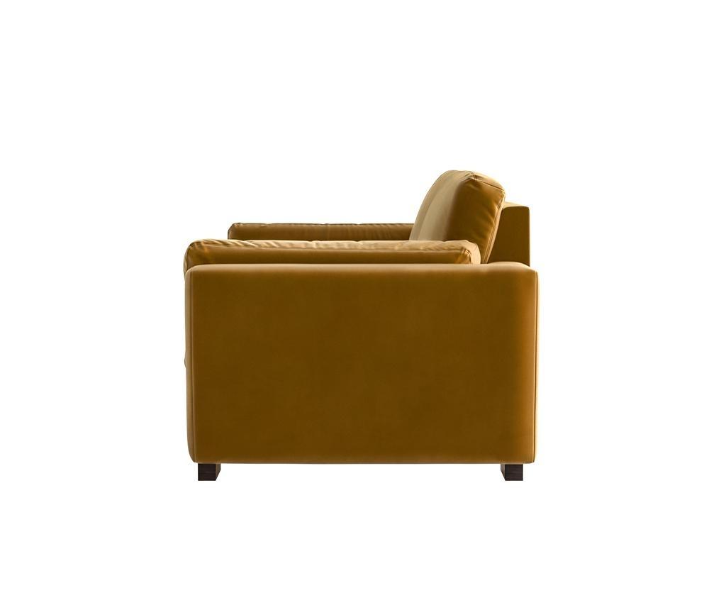Bree Mustard Háromszemélyes kanapé