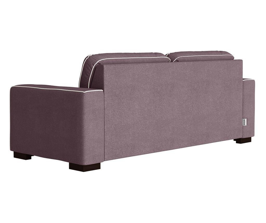Katherine Plum Grey Háromszemélyes kanapé