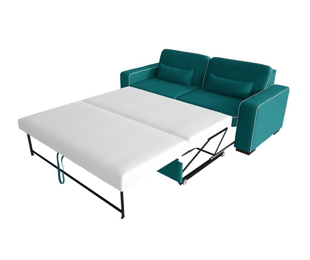 Katherine Turquoise Grey Kétszemélyes kihúzható  kanapé