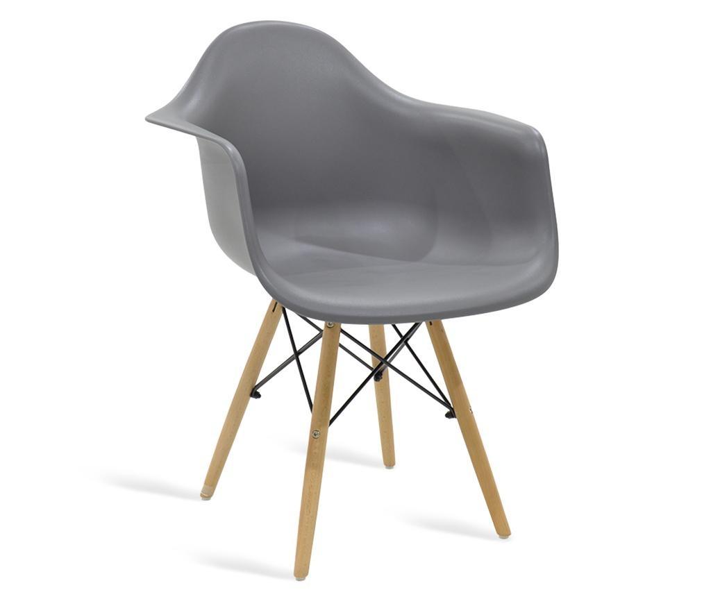 Stol Julia Wide Grey