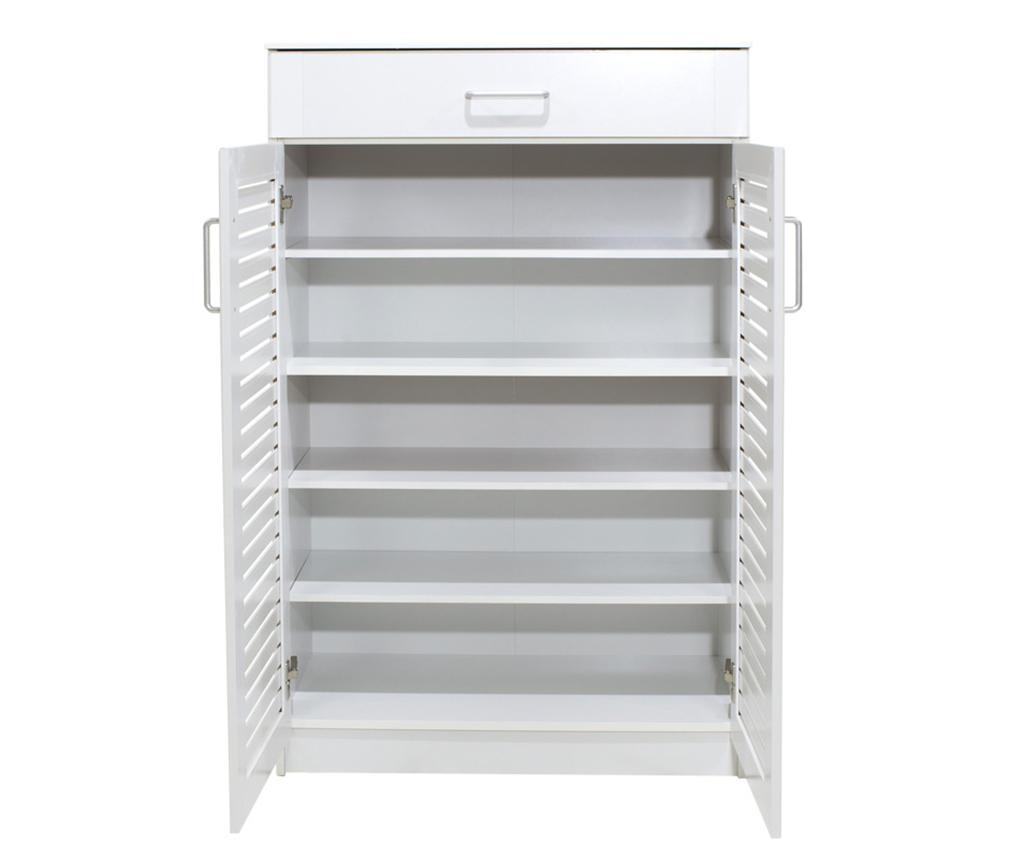 Sante White Cipőtartó szekrény
