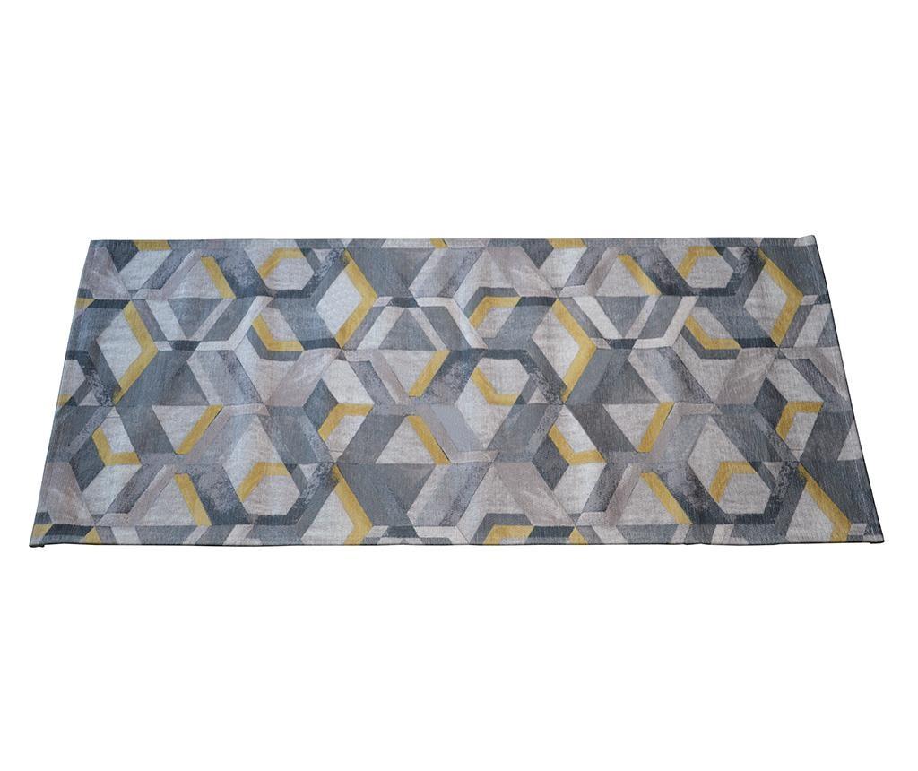 Tepih Retro Grey Ochre 60x140 cm