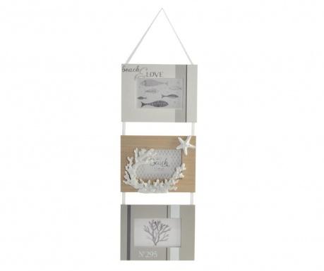 Стенна декорация с 3 рамки за снимка Glenda