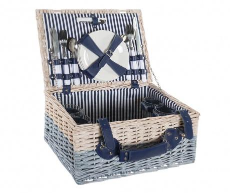 Оборудвана кошница за пикник за четирима Aida